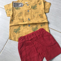 setelan baju anak laki laki import cowok 1-4