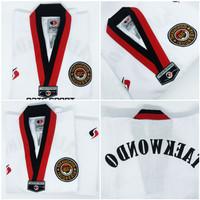 dobok taekwondo sendy champion kerah poom baju taekwondo