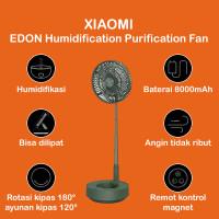 Xiaomi EDON Humidification Purification Portable Fan Kipas Angin Lipat