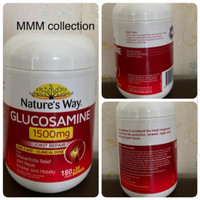 natures way glucosamine 1500mg isi 200 tablets