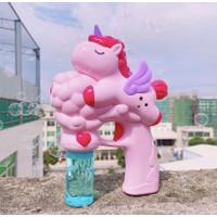 Unicorn Bubble Gun Anak - Mainan Sabun Anak