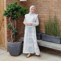 Baju Gamis Wanita Remaja Busana Muslim Outfit Casual ZAHIRA Homeydress
