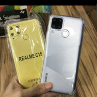 REALME C15 NEW SOFTCASE ANTI CRACK JELLY COVER BENING