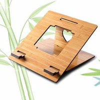 Fashion Wood Style Portable Laptop Stand - MR-666