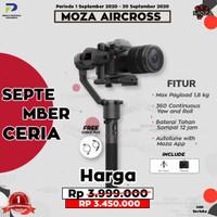MOZA AIRCROSS 3-AXIS HANDELD GIMBAL STABILIZER - GUDSEN MOZA AIR CROSS