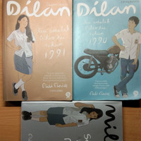 Paket Bundling 3 Novel Original Dilan by Pidi Baiq