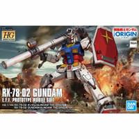 Gundam HG RX 78 - 02 Origin Bandai 1/144 1:144