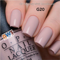 OPI Lacquer / Nail Polish / OPI My Very First Knockwurst / OPI G20