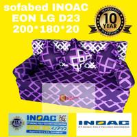 Sofa Bed Busa Inoac asli murah ukuran 200 x 160 x 20 No. 2