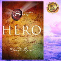 Buku The Secret HERO ( RHONDA BYRNE) HARD COVER