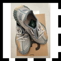 ORIGINAL Sepatu Adidas Yeezy Boost 350 V2 Israfil Size US 8.5 UK 8