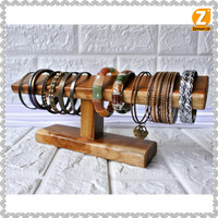 Rak display gelang / jam tangan kayu Jati   Teak bracelet / watch rack