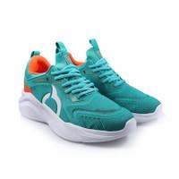 Sepatu Running Ortuseight Lora - Green/Ortrange/White - 39