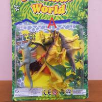 Mainan Set Animal World Dinosaurus - Mainan Hewan Dinosaurus