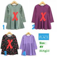 Dress anak perempuan 4 tahun The children place branded sisa eksport