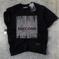 KAOS CASUAL 3SECOND ATASAN COWOK
