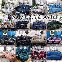 Cover Sofa 2 Seater Import Sarung Sofa Seater Stretch Kain Sofa Seater - 1 Seater
