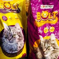 pakan kucing cat makanan kucing bolt 20kg