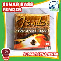 Senar Bass Fender Bass Elektrik 4 Senar 040 Pure Nickel Round Wound