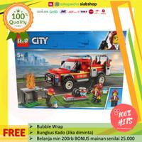 PROMO LEGO CITY 60231 Fire Chief Response Truck Pemadam Kebakaran