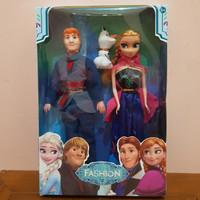 Mainan Set Boneka Anna Frozen - Mainan Boneka Anna Frozen