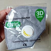 Masker N95 Anti Virus - Ada katup