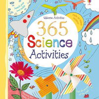 Usborne 365 Science Activities. Buku Aktivitas Anak Import