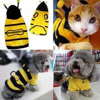 Baju model lebah size M kucing monyet anjing musang dll