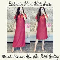 Maxi midi dress balmain - Abu midi