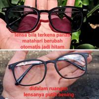 kacamata RB Lensa photocromic berubah warna normal/minus/silinder