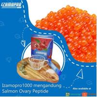 salmon ovary peptide sop 100 izamopro 1000 bukan sop 100+ isi 20sachet