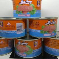 MaLing Kaleng TTS 397 gram / Canned Pork Luncheon Meat Ham 397gr