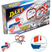 Mainan Tembakan Soft Bullet Gun - Dart League