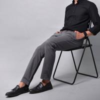 Celana Chino Panjang Slimfit Original Seigneur / Chino Premium - Grey, M
