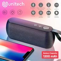 Speaker Bluetooth Mini Q106 Super Bass Support Micro SD Flashdisk AUX - Hitam