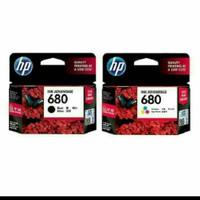 TINTA HP CATRIDGE 680 BLACK + 680 COLOUR ORIGINAL for Printer2135 3635