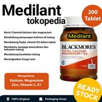 Blackmores Vitamin D. total. Calcium magnesium D3 isi 200 tablet 💊