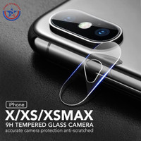Tempered Glass Kamera Screen Protector iPhone X XS XS MAX Anti Gores