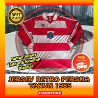 Jersey Retro Bola Persija Jakartans Panjang 1985