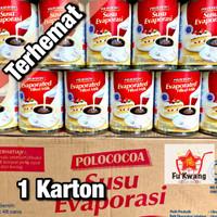 [Khusus Gosend] Susu Evaporasi Evaporated Milk Polococoa 1 karton