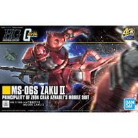 Gundam HGUC Zaku 2 Zaku II Char Revive