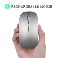 MOUSE WIRELESS SLIM 2.4GHZ SILENT PLUS RECHARGEABLE