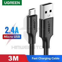 UGREEN 60827 Kabel Micro USB 3M Fast Charging Samsung Xiaomi Charger