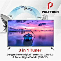 POLYTRON 50 inch DIGITAL LED FULL HD TV - 50S883