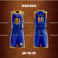 Threepoint Jersey Basket NBA GSW/WARRIORS/GOLDEN STATE Setelan Keren