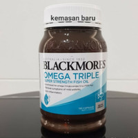 BLACKMORES OMEGA TRIPLE SUPER STRENGTH FISH OIL 150 CAPSULES