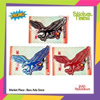Sticker Timbul Mobil Motor Sticker Burung Garuda