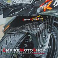 Spakbor Depan ZX25R ZX 25 R Carbon Kevlar Karbon