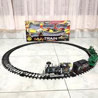 Mainan Anak Kereta Millitary Set MA Train Millitary Ada Asap