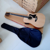 Termurah..!!! Gitar ibanez akustik elektrik jumbo plus softcase